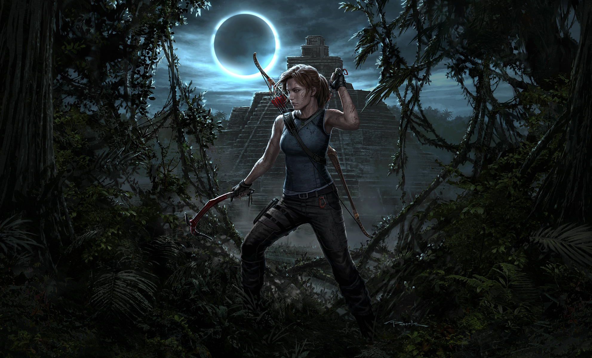 All Games Delta Shadow Of The Tomb Raider Launch Trailer 4k